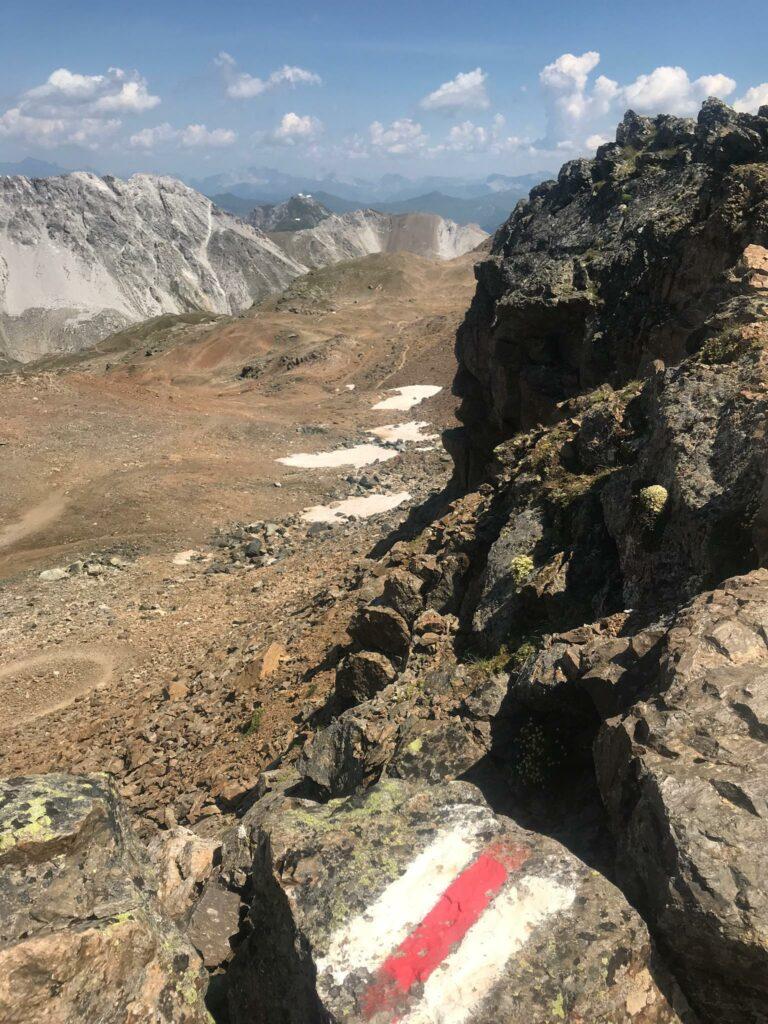Bergwanderweg zum OSTGIPFEL