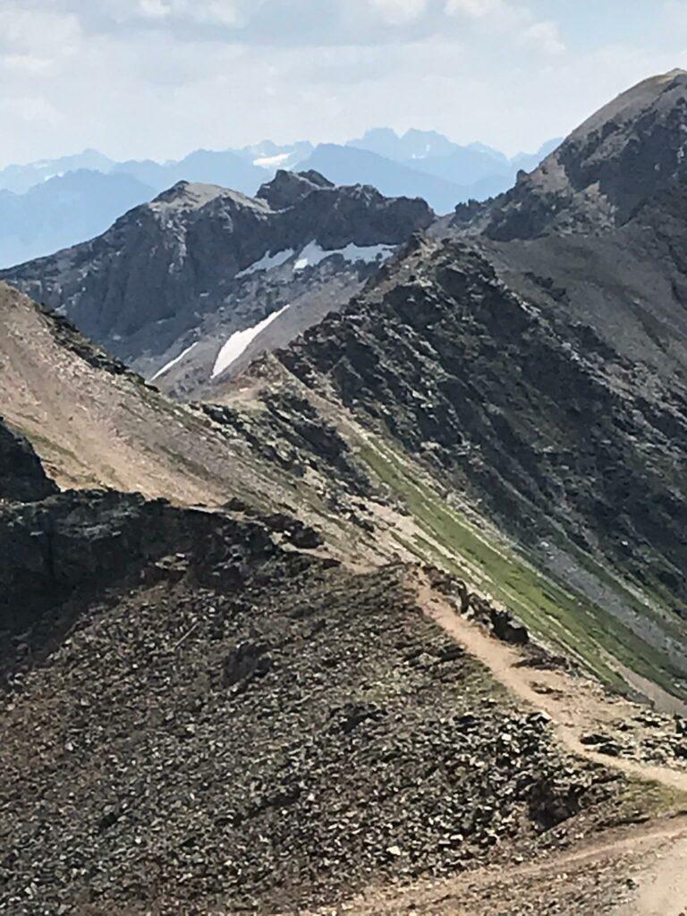 schroffes Berggelände