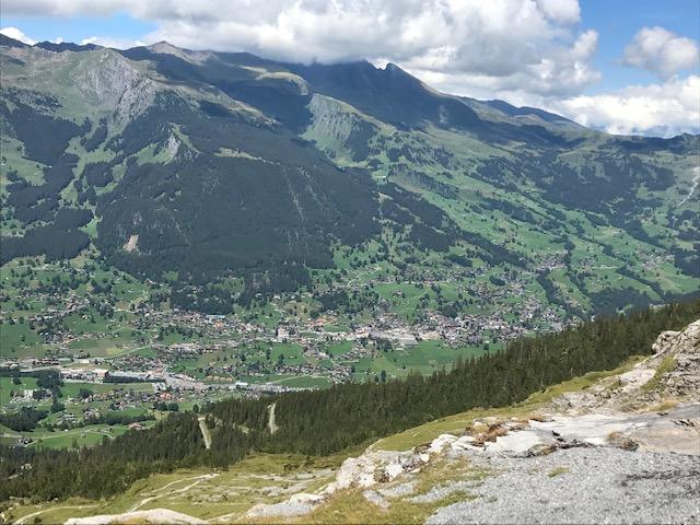 Blick Richtung Grindelwald