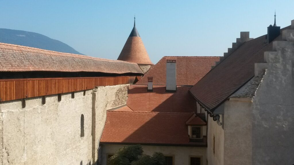 Innenhof Schloss Grandson