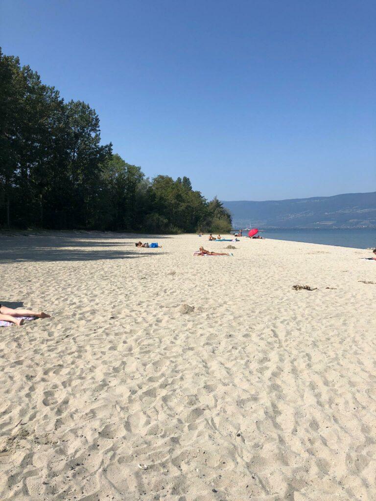 Strand von Yvonand