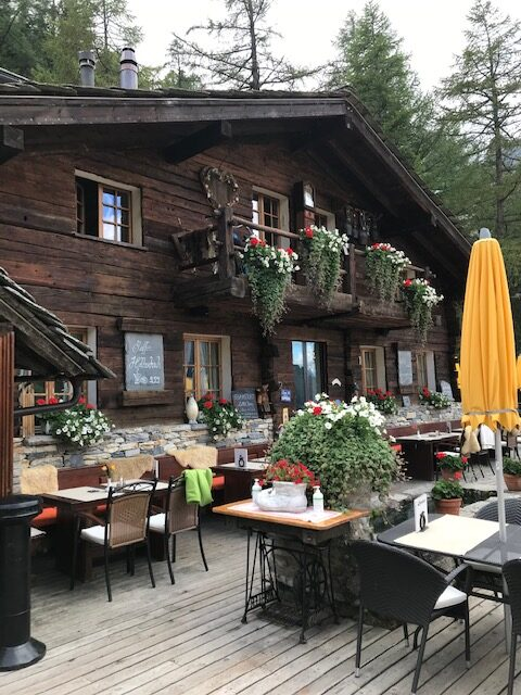 Restaurant Bodmen oberhalb Saas-Almagell