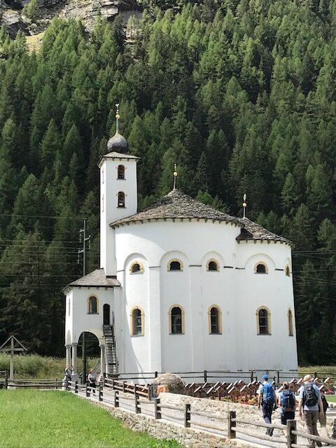 Rundkirche in Saas-Balen