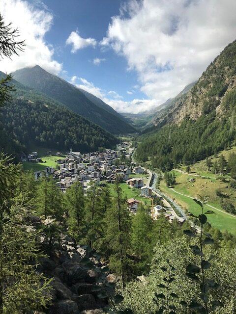 oberhalb Saas-Almagell