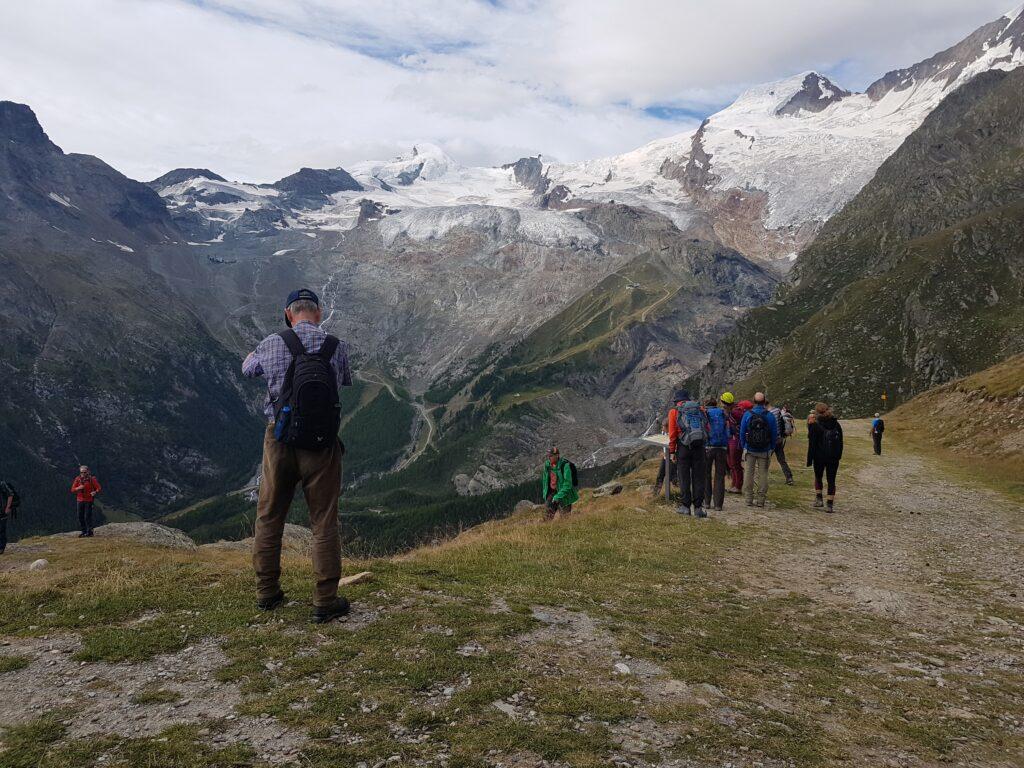Murmeltierwanderung am Panoramaberg HANNIG oberhalb Saas-Fee