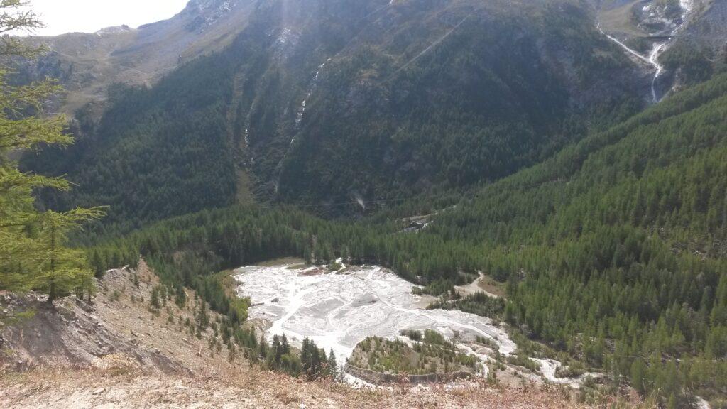 Eiswassermassen
