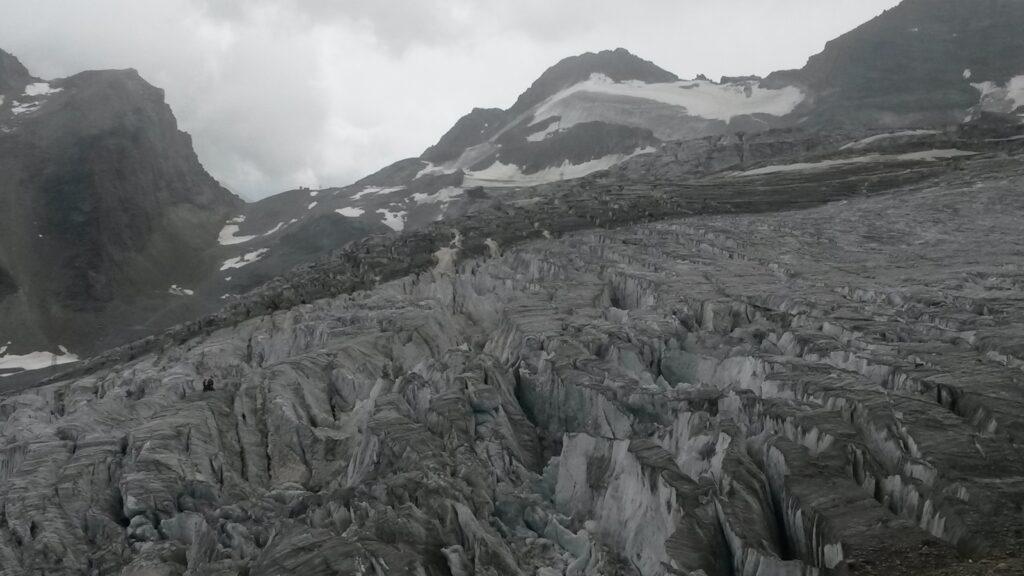 einsame Gletscherlandschaft