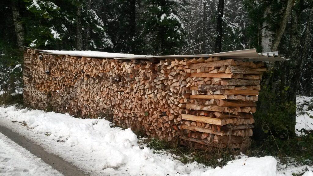 genügend Holz für den Winter - 07.12.2020