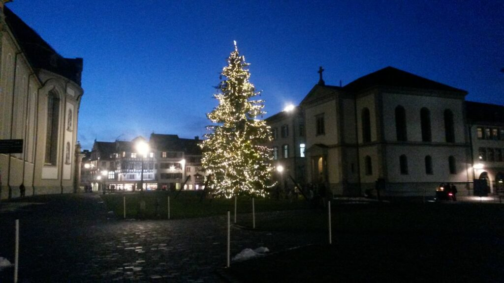 Klosterplatz, St. Gallen - 16.12.2020