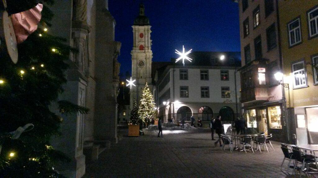St. Gallen, Altstadt - 16.12.2020