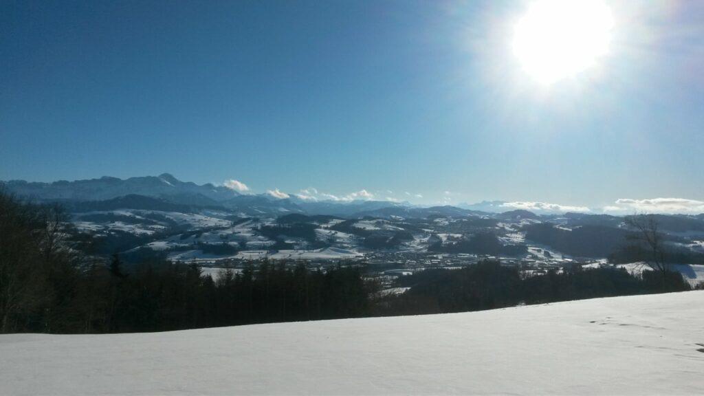 perfekte Bergsicht - 24.01.2021