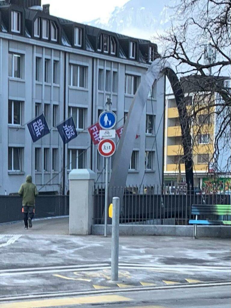 neue ITALIENISCHE BRÜCKE in Chur - Judith, 18.02.2020
