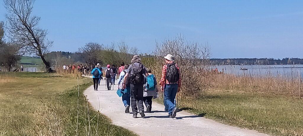 unterwegs Richtung Juckerhof in Seegräben - 24.04.2021