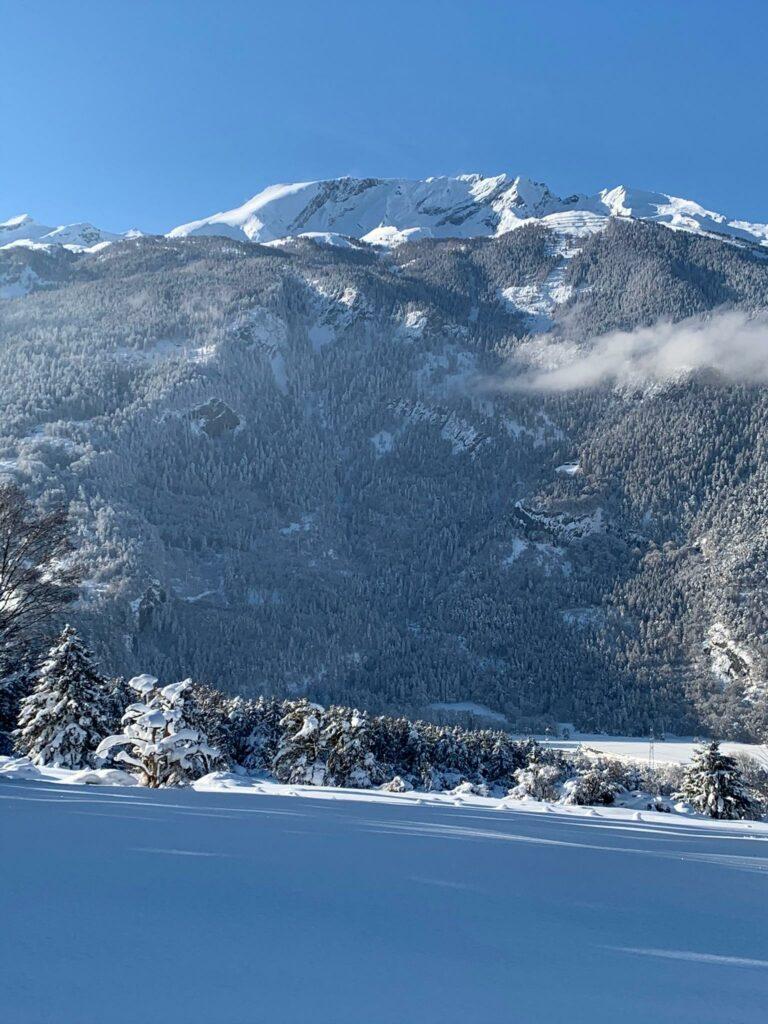 Der Calanda: Gebirgsmassiv nordwestlich von Chur - Judith