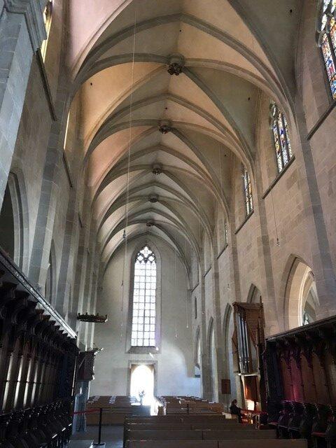 Kloster Kappel, Kirchenschiff - 25.04.2021