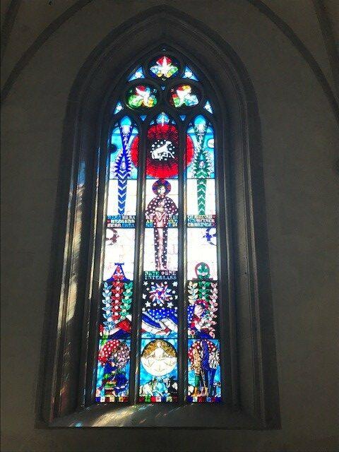 Kloster Kappel, Kirchenfenster - 25.04.2021