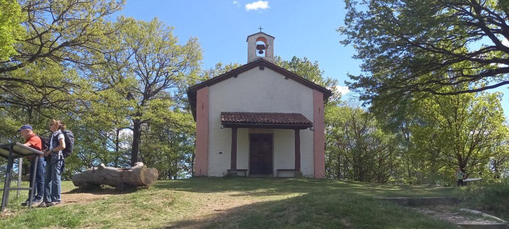 Cappella San Bernardo, Region Aranno-Vernate - 20.05.2021
