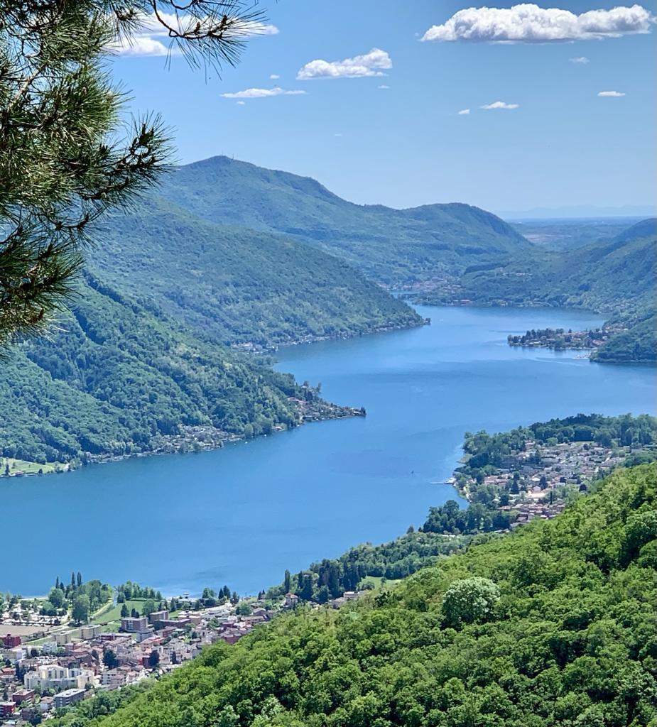 tiefblauer Lago di Lugano - 20.05.2021