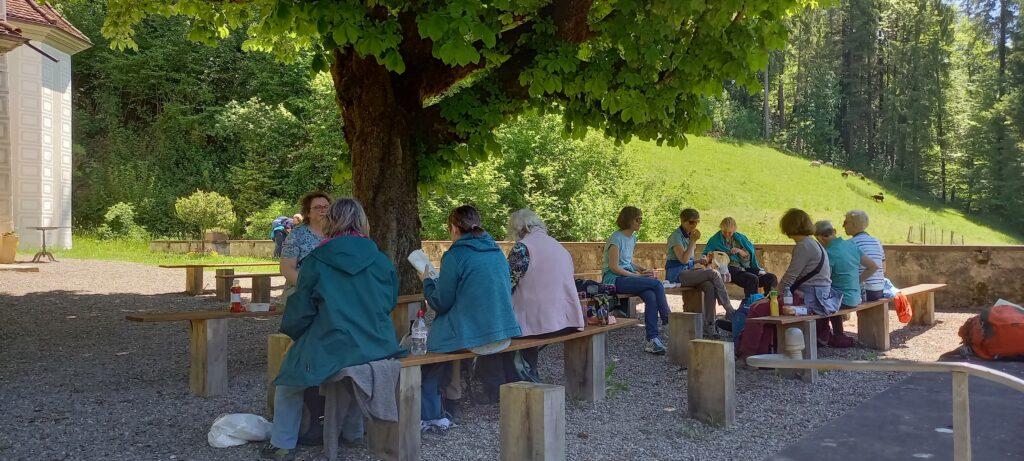 gemütliches Picknick unter schattenspendenden Bäumen - 30.05.2021