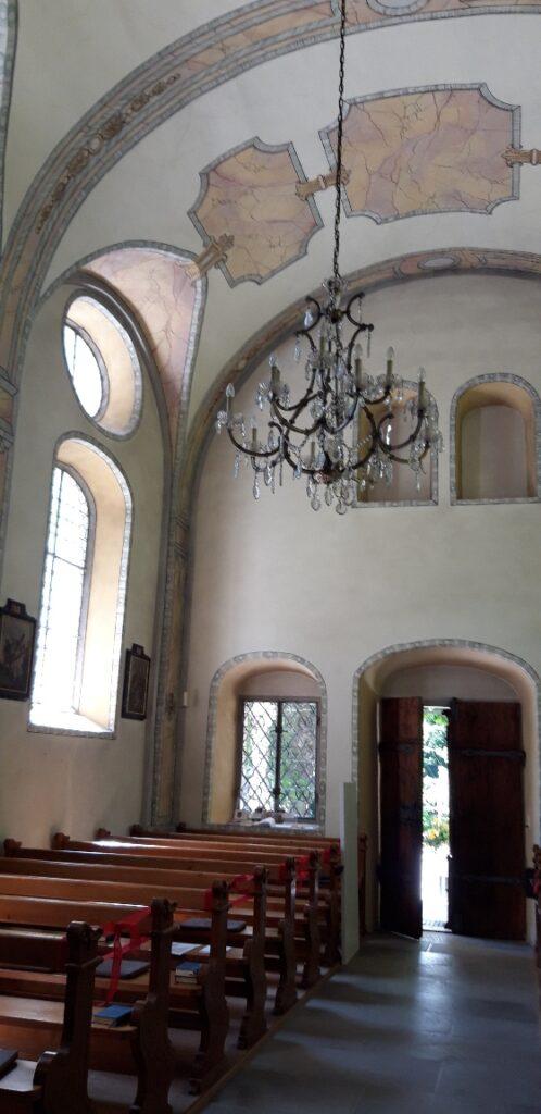 Innenraum Kapelle Jonental - 30.05.2021