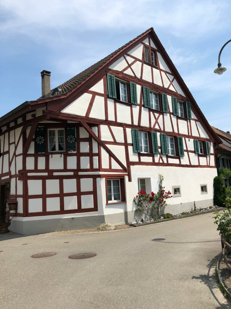 hübsches Riegelhaus in Ellikon - 12.06.2021