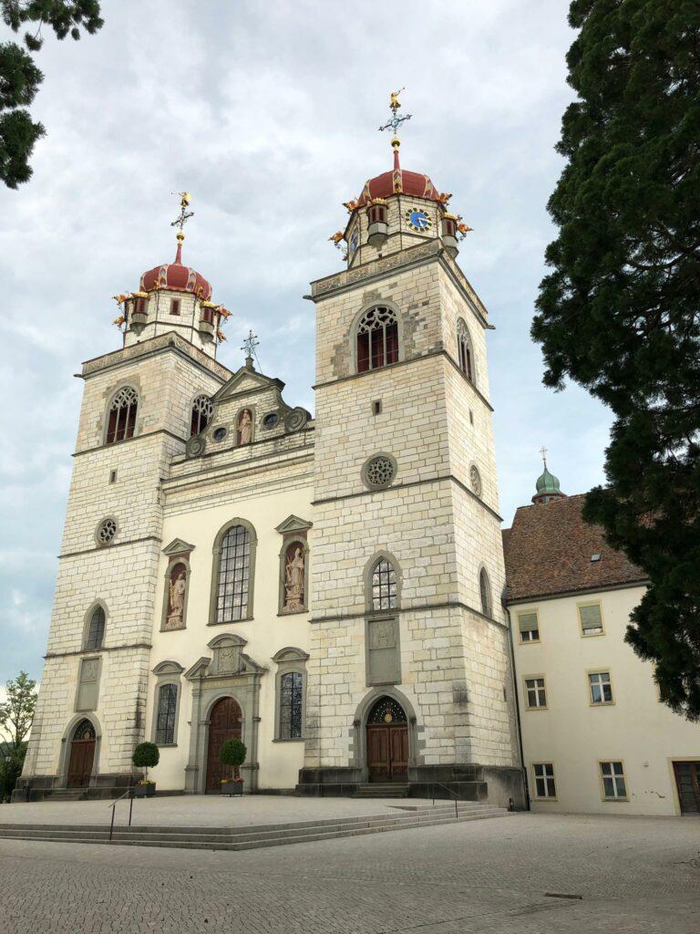 Klosterkirche Rheinau, ehemalige Benediktinerabtei (778-1862) - 12.06.2021