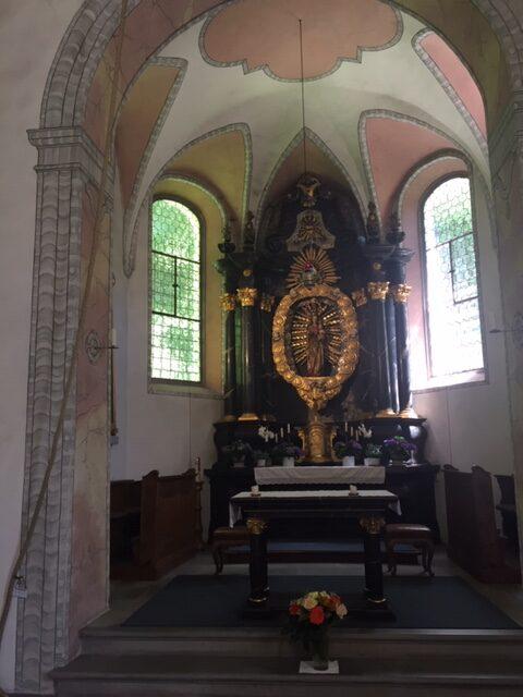 Altar Kapelle Jonental - 30.05.2021