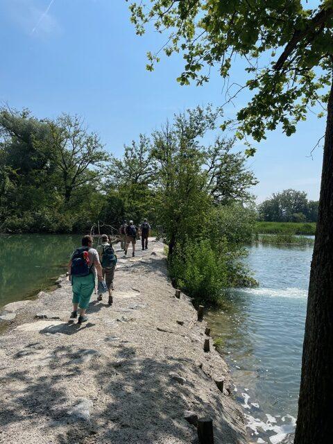 Schritt für Schritt am Fluss - 12.06.2021