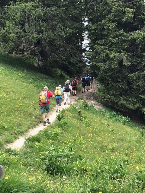 unterwegs zur Alp Maton, 20.06.2021