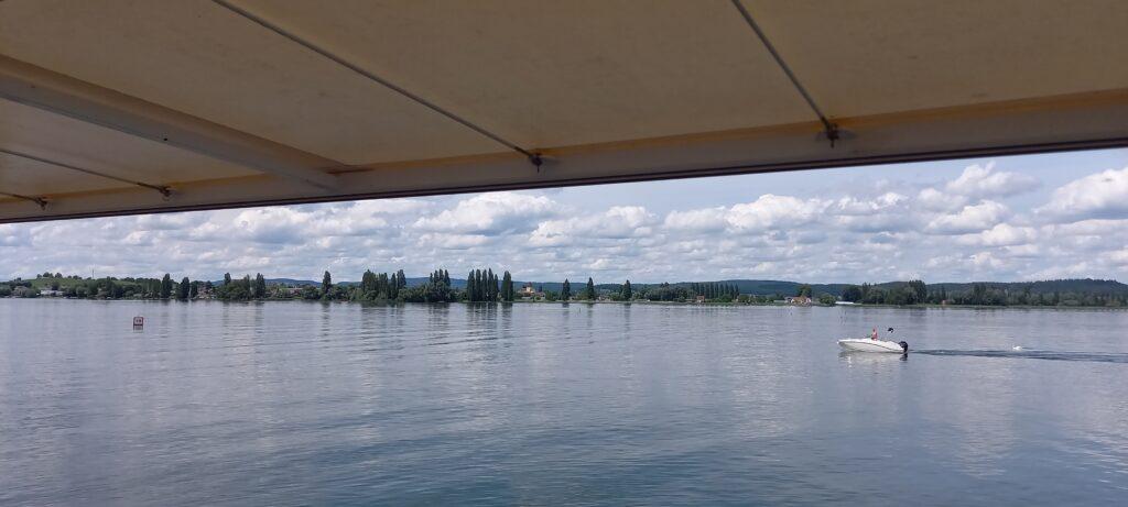 auf der Schifffahrt von Konstanz nach Reichenau - 23.06.2021