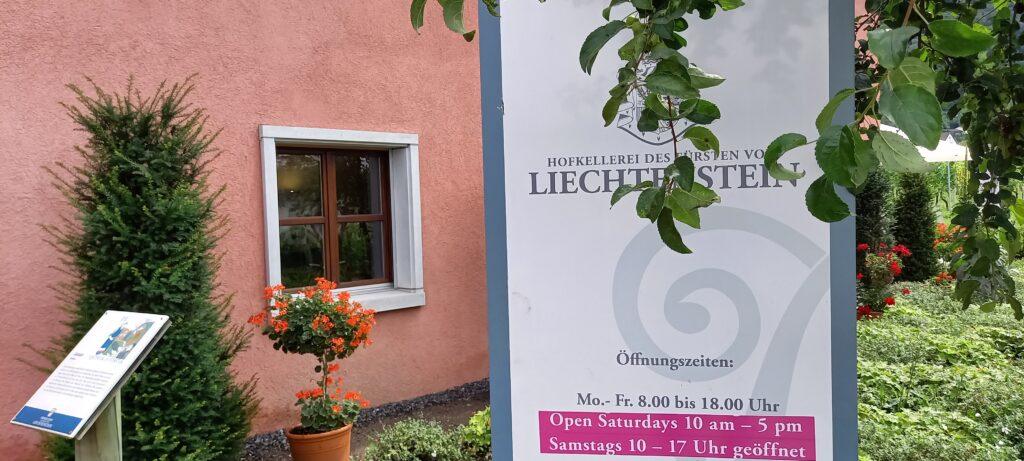 Plakat Hofkellerei des Fürsten von Liechtenstein - 09.07.2021