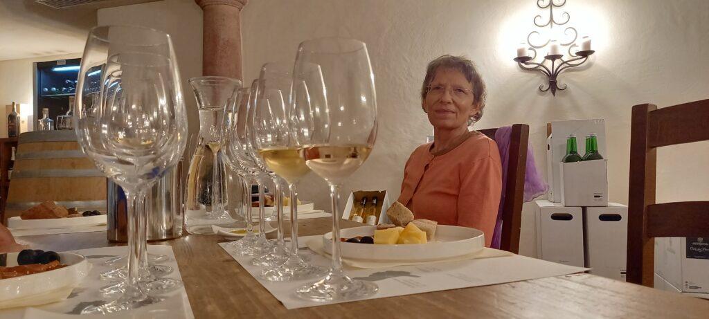 Degustier-Gläser in Reih und Glied - 09.07.2021