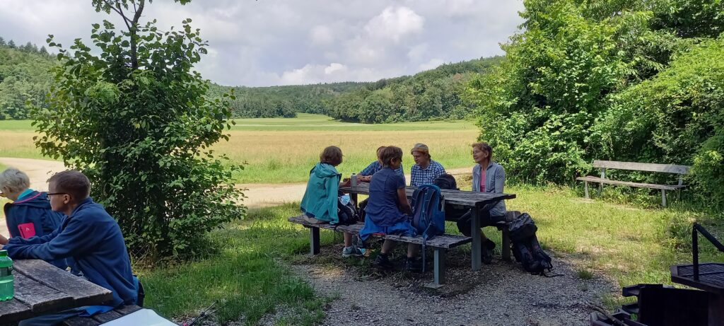 Mittagsrast im Eschheimertal - 11.07.2021