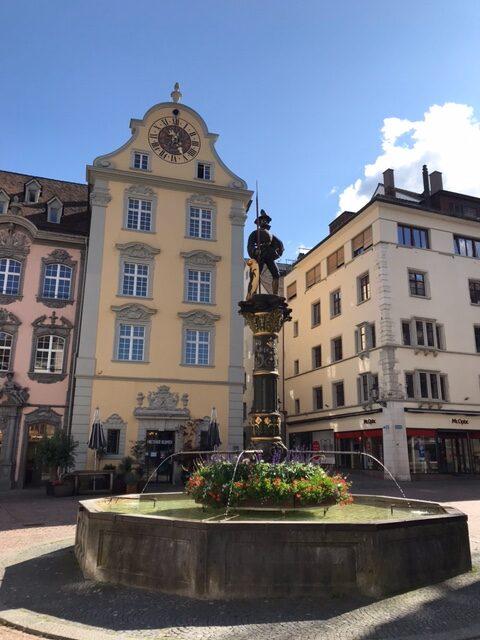 Schaffhausen, Altstadt - 11.07.2021