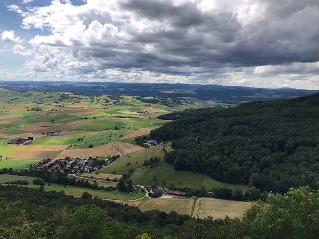 dunklere Wolken über dem Klettgau - 11.07.2021