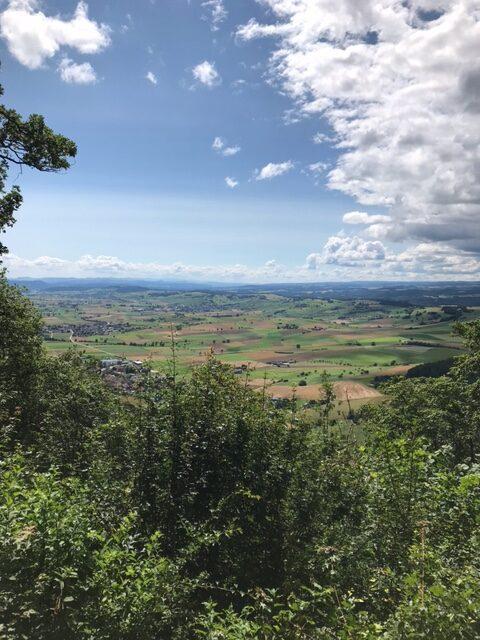 schöne Aussichten vom Siblinger Randenturm - 11.07.2021