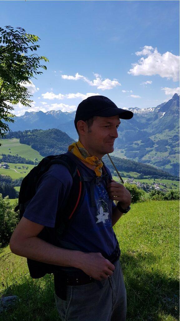 zufriedener Wandersmann Rico - 27.06.2021
