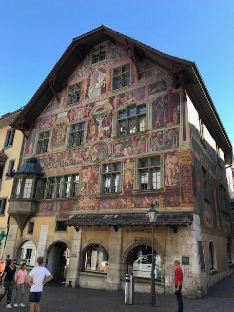 Schaffhauser Altstadt-Haus - 11.07.2021