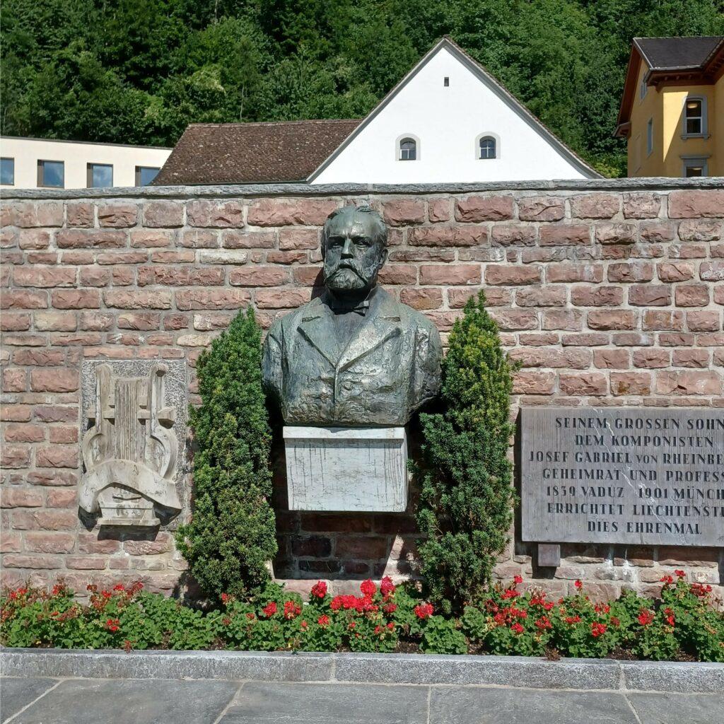 Komponist Josef Gabriel Rheinberger, geboren in Liechtenstein - 09.07.2021