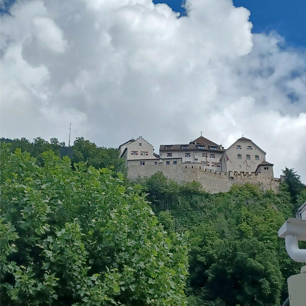 stolzes Schloss Vaduz - 09.07.2021
