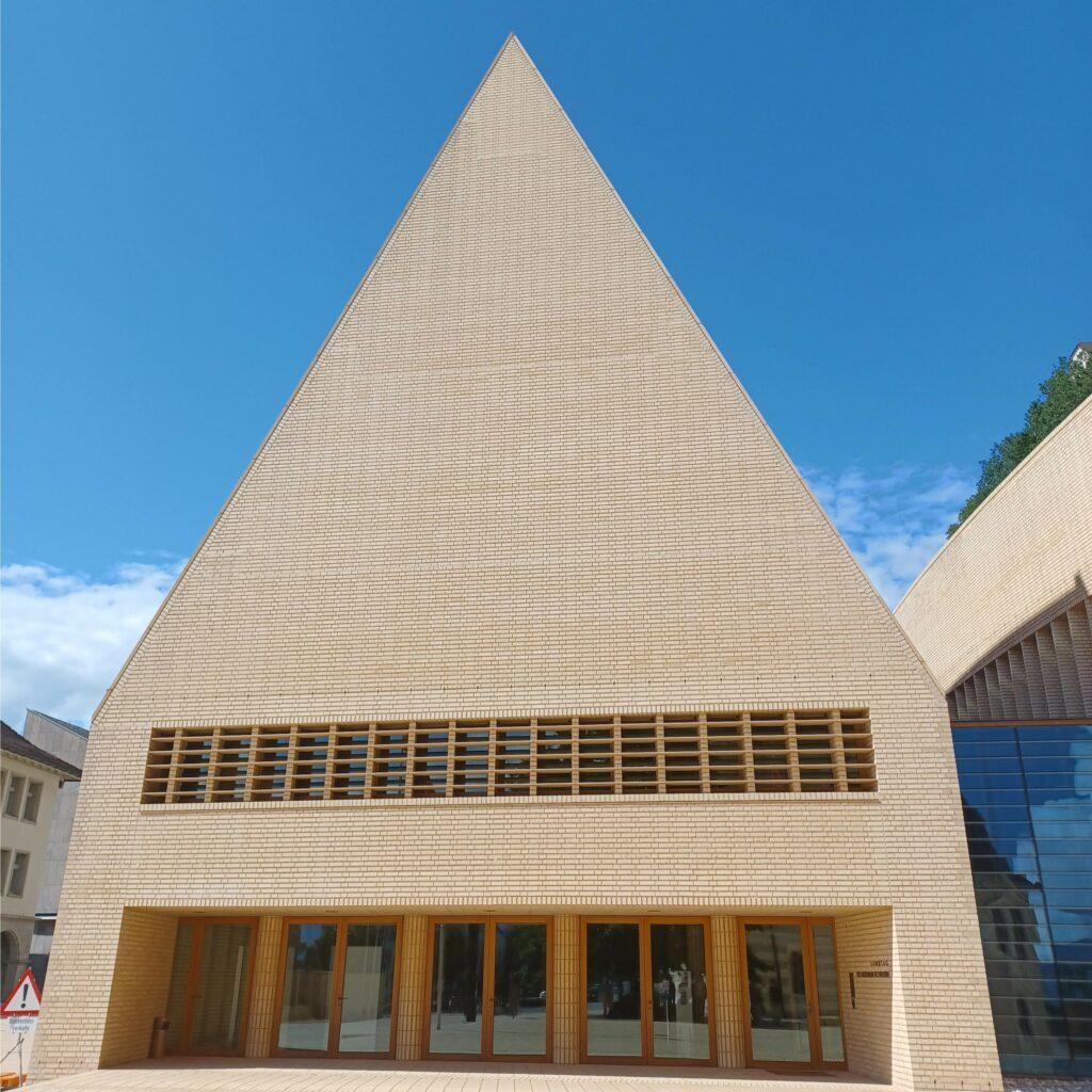 Landtagsgebäude des Architekten Hansjörg Göritz - 09.07.2021