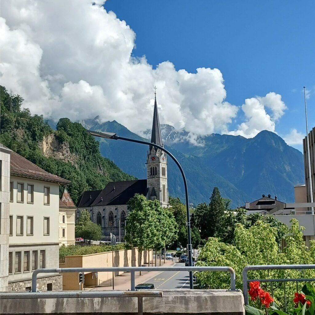 Vaduz, Kathedrale St. Florin - 09.07.2021