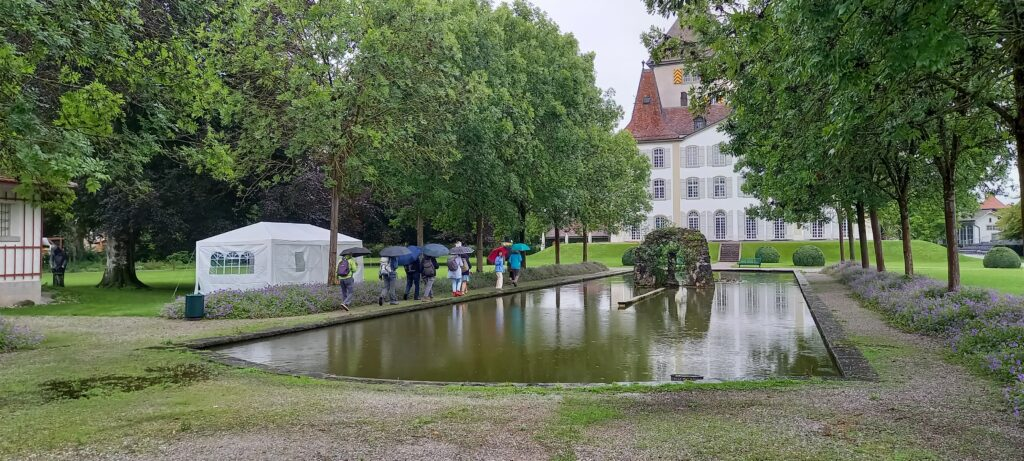 Regen-Spaziergang im Schlosspark - 01.08.2021