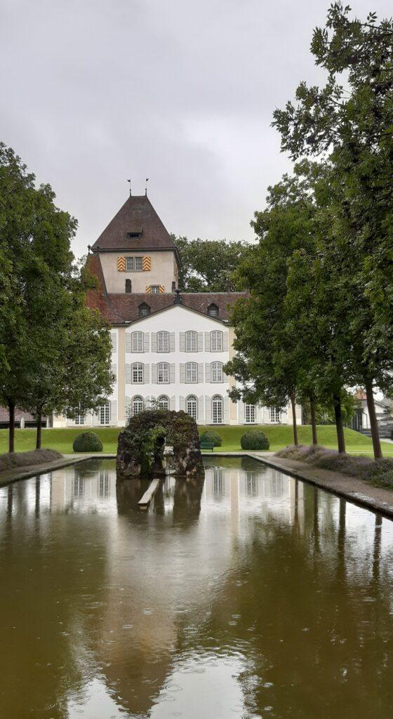 Schloss Jegenstorf, Parkanlage - 01.08.2021