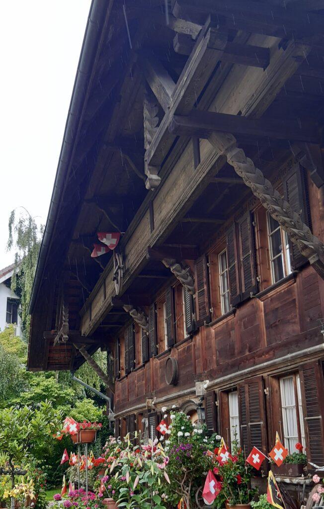 typisches Berner Haus in Jegenstorf - 01.08.2021