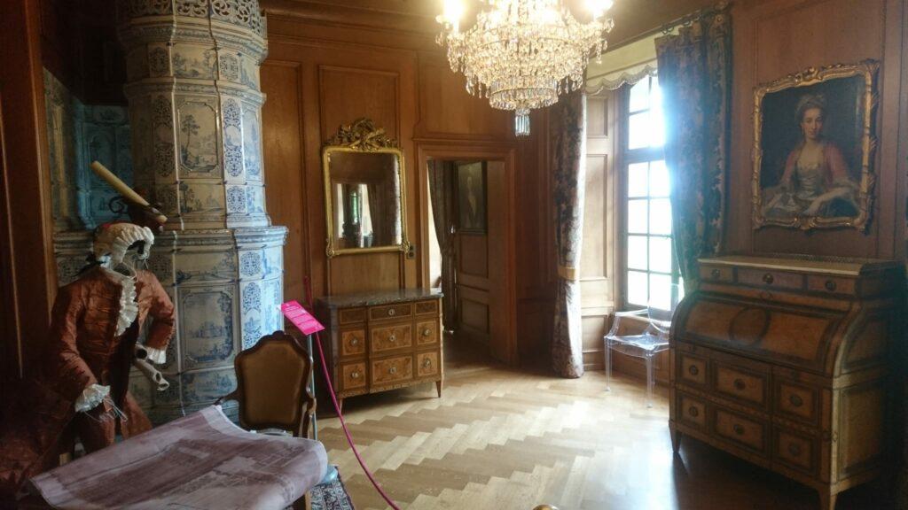 Wohngemächer der Schlossbesitzer - 01.08.2021