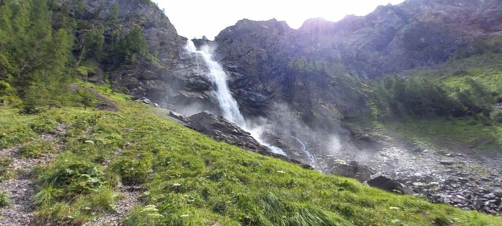 tosende Engstligen-Wasserfälle - 09.08.2021