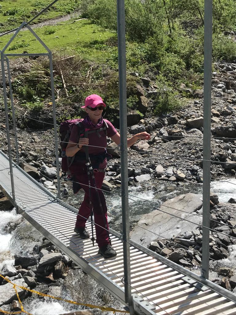 sicheren Schrittes über die Hängebrücke - 09.08.2021