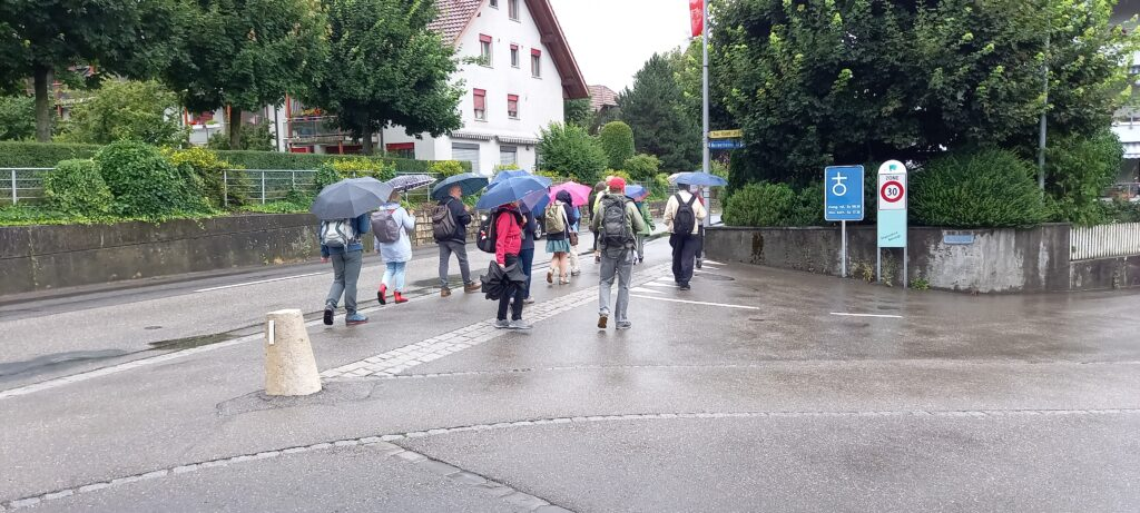 Dorfbesichtigung in Jegenstorf mit Regula - 01.08.2021