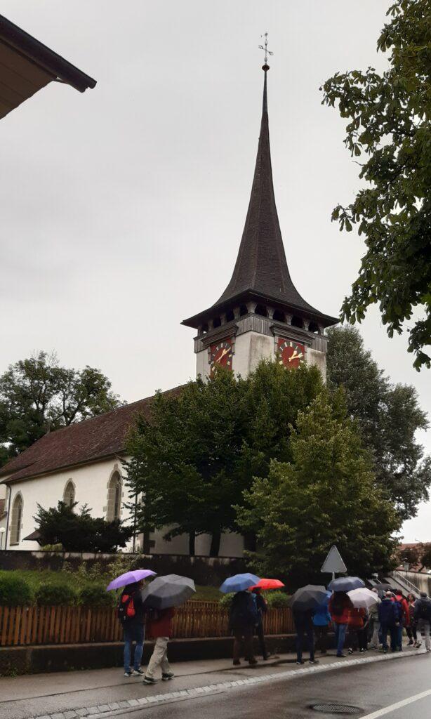 kath. Kirche in Jegenstorf - 01.08.2021